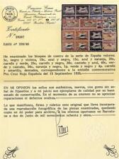 Sellos de España 1926 nº 339/348 Pro Cruz Roja Española Bloque de cuatro Nuevos
