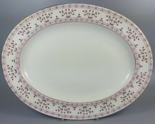 ROYAL CROWN DERBY BRITTANY A1229 OVAL SERVING PLATTER / MEAT PLATE 34.5CM X 27CM