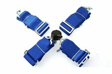 "SPORT SEAT BELTS PP-PS-042 QUICK 4-POINT 3"" BLUE"