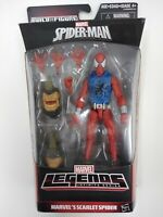 Marvel Legends SCARLET SPIDER Spider-man Infinite Series RHINO BAF Free Shipping