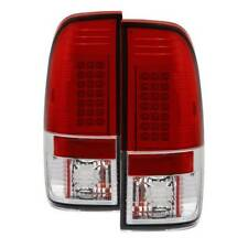 Spyder LED Tail Lights Red Clear For 97-03 Ford F150/F250/F350/F450 #5003485
