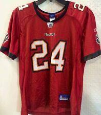 Reebok Women's NFL Jersey Buccaneers Carnell Williams Red sz S