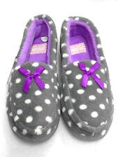 35 Pantofole da donna grigia