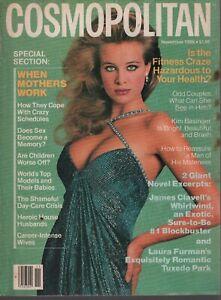 Cosmopolitan Magazine November 1986 Frederique Scavullo 080919AME