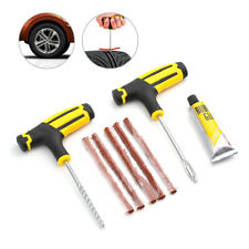 Car Tubeless Tire Puncture Repair Plug Repairing Kits Needle Patch Fix Tool