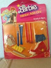 Vintage 1978 Mattel Barbie Fashion Add Ons Scarfs and Such