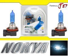 Nokya 7000K White H8 Nok7223 55W Two Bulbs Fog Light Replacement Lamp High Watt
