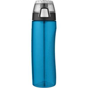 Thermos 24 oz. Eastman Tritan Flip-Cap Hydration Water Bottle w/ Rotating Meter