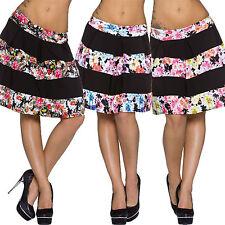Markenlose knielange Damenröcke im A-Linien-Stil für die Freizeit