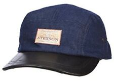 Stetson Admiral Ball Cap Denim Blue / Black Adjustable Baseball Cap