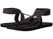 Women Reef Flip Flop Sandal Cushion Moon RF001276 Black 100% Original Brand New