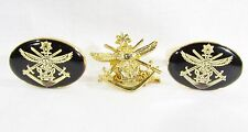 Gold Tone Cuffliks with Australian Defence Force Ensign