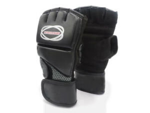 ✅  Boxhandschuhe Echtes Leder ✅ MMA Taekwondo Handschuhe Schutzhandschuhe Boxen