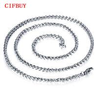 CIFBUY Gliederkette Halskette Classical Edelstahl Herrenschmuck Geschenk Mehrere