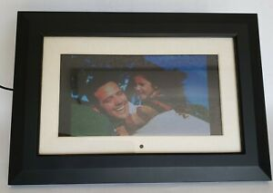 """Optimus 16-665 9"""" Digital Picture Frame Widescreen 640x220 with Charger"""