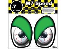 MINI Cooper R50-R53 Underhood Eye Decal Set- Green Eyelids | FREE SHIPPING