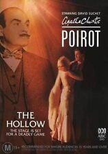 Agatha Christie Poirot The Hollow Region 4 PAL ABC DVD Brand New Sealed