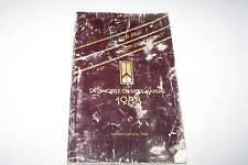 1988 OLDSMOBILE DELTA 88 98 car owners manual