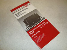 LGB 69232 BLACK TENDER WITH SOUND INSTRUCTION MANUAL BRAND NEW!