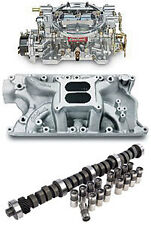 Edelbrock 7181PK Performer RPM 351W Power Package; Intake Manifold, Carburetor