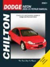 Chilton Repair Manual Repair Guide Dodge Neon 2000-2005 DIY Book