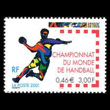 France 2001 - Men World Handball Championship Sports - Sc 2796 MNH