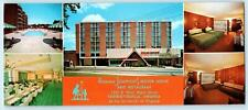 CHARLOTTESVILLE, VA ~ Roadside HOWARD JOHNSON'S University of Virginia  Postcard