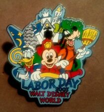 Disney Wdw 2003 Labor Day Mickey As A Fireman Donald Duck And Goofy Le 2500 Pin