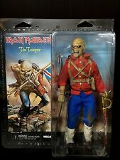 "NECA 2014 RETRO IRON MAIDEN MASCOT THE TROOPER EDDIE 8"" ACTION FIGURE NIB"