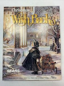 Sears Wishbook Cataloge 1995 Winter Toys Christmas Department Store Lego