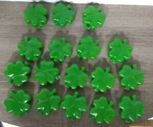 ST PATRICK'S DAY BLOW MOLD CLOVER SHAMROCK REPLACEMENT LIGHT COVERS