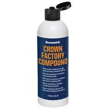 Brunswick Crown Factory Compound Bowling Ball Polish - 6 oz. Bottle