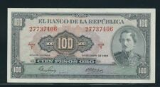COLOMBIA BANKNOTES $100 1964