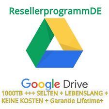Google Drive 1000TB | SELTENER KONTO | LIFETIME GARANTIE