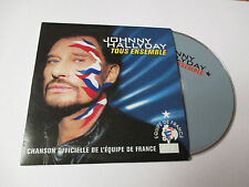 Johnny Hallyday - tous ensemble - cd single 2002