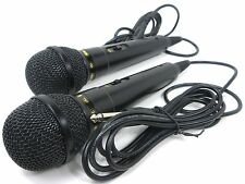 2 Pack Lot Dynamic Microphone Premium Uni-Directional Cardiod Karaoke Vocal Mic