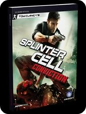 guide stratégique officiel  SPLINTER CELL CONVICTION   -- NEUF