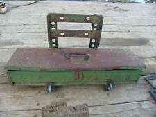 John Deere Tractor Steps & Tool Box
