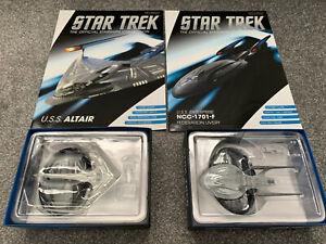 Star Trek Eaglemoss Starship Collection USS Altair & Enterprise F Special Ed