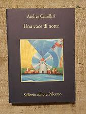 Una voce di notte  - Andrea Camilleri - Sellerio editore COME NUOVO