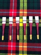 Uilleann Bagpipes Chanter Reeds of Spanish Cane/uillean pipes Reeds 6 pcs a lot