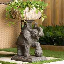 Outdoor Elephant Plant Pot Planter Decor for Flowers Plants in Garden Patio Yard