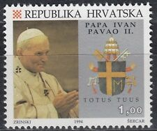 Kroatien / Hrvatska Nr. 291** Besuch v.Papst Paul II. / Posjetite papa Pavao II.