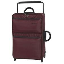 IT Luggage World's Lightest Suitcase Chocolate Truffle Large 79cm New