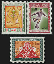 ALGERIE N°474/476**  Sport jeux olympiques Mexico 1967, ALGERIA Olympic Games NH