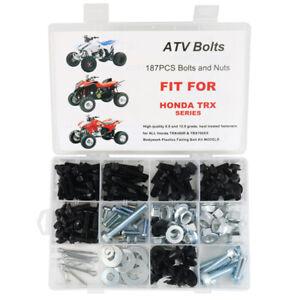 150pc Plastics Fairing Bolts Kit Aftermarket Fit For HONDA TRX450R 450 TRX 700