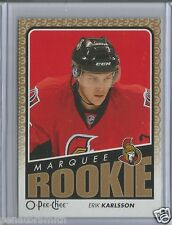 "2009-10 O-Pee-Chee OPC #789 Erik Karlsson ""Marquee Rookie"" RC"