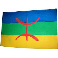 Drapeau Kabyle / Berbere / ALGERIE / 145 cm X 90 cm / Livraison gratuite