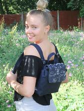 LONI Girls Womens Mini Backpack Handbag Fashion Rucksack Satchel College Bag