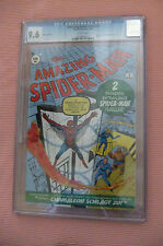 CGC 9.6 NM+ NEAR MINT AMAZING SPIDER-MAN # 1 EURO VARIANT DITKO RRP SDCC WP